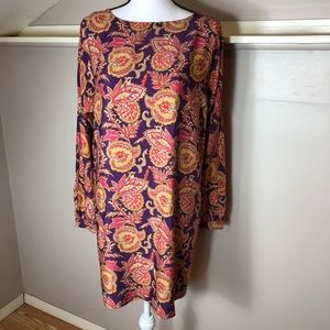 Ann Taylor LOFT Paisley Shift Dress